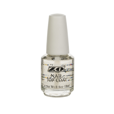 ZO NAIL TOP COAT верхнее покрытие для лака 18 мл